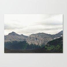 Mountain Green Canvas Print