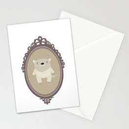sweet wolf Stationery Cards
