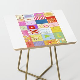 SUMMER QUILT Side Table