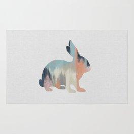 Pastel Rabbit Rug