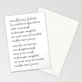 Amores Como El Nuestro Stationery Cards