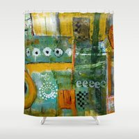 starbucks Shower Curtains featuring Starbucks by Jenny Chatterton