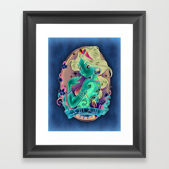 Royal Blood Framed Art Print