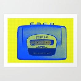 FAVOURITE90 - Walkman02 Art Print