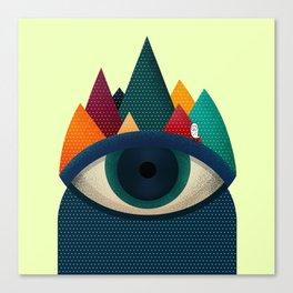 068 - I've seen it owl Canvas Print