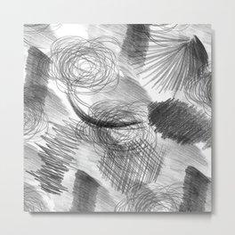 Draw Metal Print