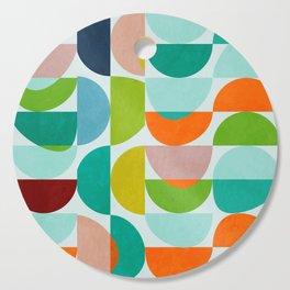 shapes abstract III Cutting Board