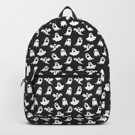 Ghosts on Black // Halloween Collection Backpack