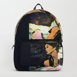 Facing Away From The Darkness Backpack
