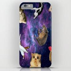 Cats in Space iPhone 6s Plus Slim Case