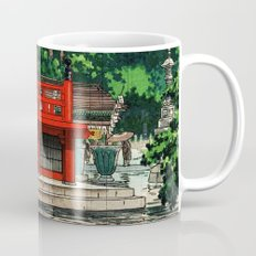 In the rain-Asakusa Sensouji temple Mug