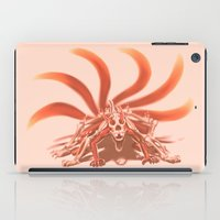 naruto iPad Cases featuring Naruto Kyuubi Mode by Prince Of Darkness