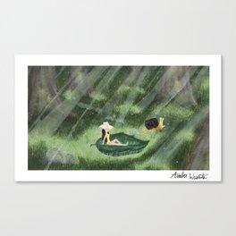 Fun in the sun (july'18 prompt) Canvas Print