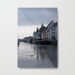 Nyhavn Copenhagen 1 Metal Print