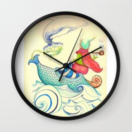 The Genius and the Lamp Wall Clock