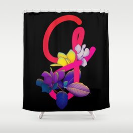 Letter G Shower Curtain