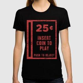 Insert Coin | Arcade Game T-shirt