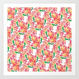 Daisy Chains II Art Print