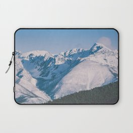 Snow Capped Peaks Laptop Sleeve
