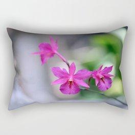 Pink Orchide Rectangular Pillow