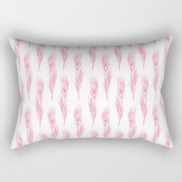 Light as a pink feather Rectangular Pillow