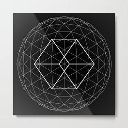 Geometry 01 Metal Print