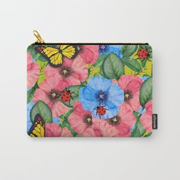Floral scene Carry-All Pouch