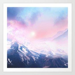 Pastel vibes 27 Art Print