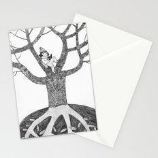 Winter reading Stationery Cards