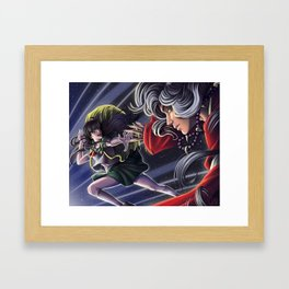 Into the Past Framed Art Print