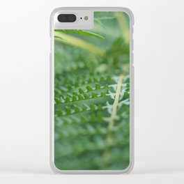 Serene Green Clear iPhone Case