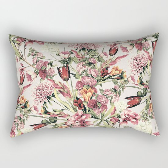 RPE FLORAL XI Rectangular Pillow