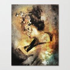 The Last Geisha Canvas Print