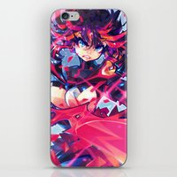 barachan iPhone & iPod Skins featuring matoi by barachan
