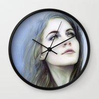 matty healy Wall Clocks featuring Self by milyKnight