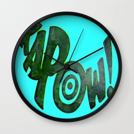 KAPOW! # 1 Wall Clock