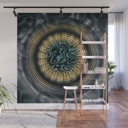 Primal Energy Vibrations Wall Mural