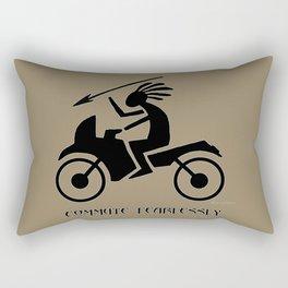 Commute Fearlessly Rectangular Pillow