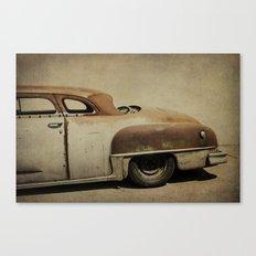 Rusty Chrysler De Soto Canvas Print
