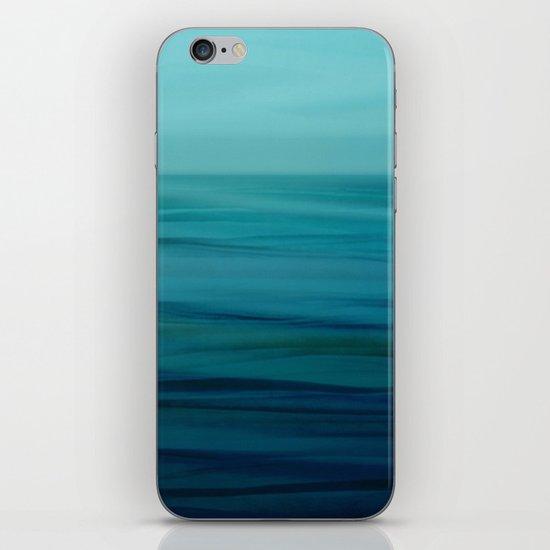 Greenish Blues iPhone & iPod Skin