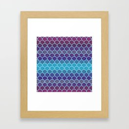 Watercolor Lovely Pattern VVIII Framed Art Print