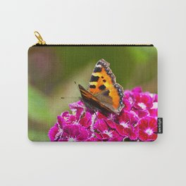 Butterfly small Tortoiseshell Carry-All Pouch