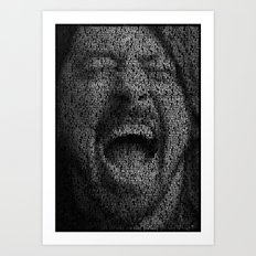 Dave Grohl. Best Of You Art Print