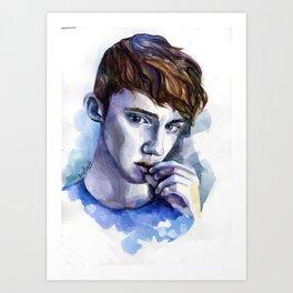 troye boy Art Print