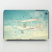 never stop exploring iPad Cases featuring Never Stop Exploring III by Monika Strigel