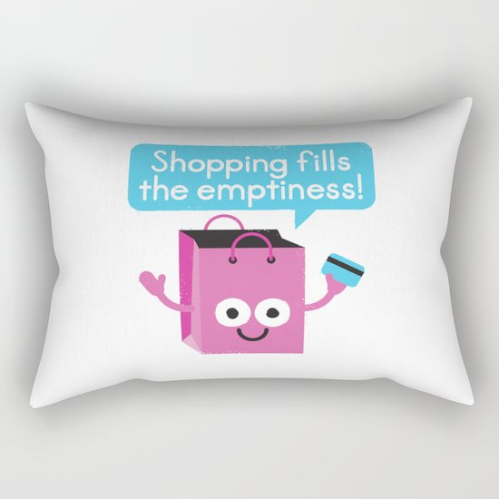 Retail Therapy Rectangular Pillow