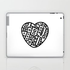 Iron heart (B&W Edition) - PM Laptop & iPad Skin