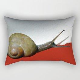 In a rush... Rectangular Pillow