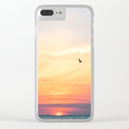 Let your dreams fly high Clear iPhone Case