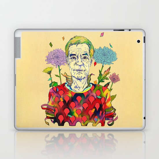 Timothy Leary Laptop & iPad Skin